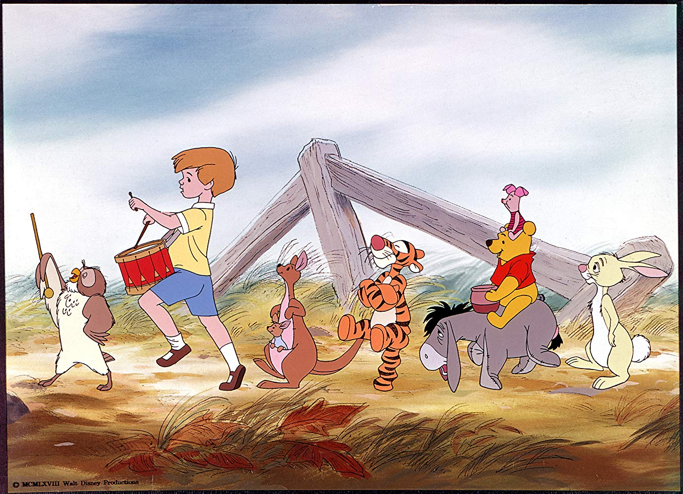 """""""The Many Adventures of Winnie the Pooh"""" (1977)"""